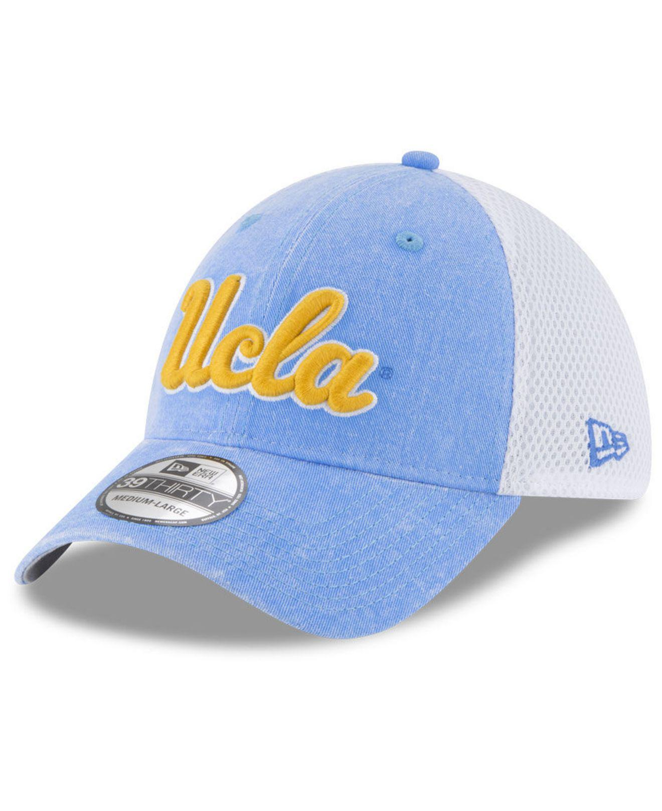 39404f51f8a Lyst - Ktz Ucla Bruins Washed Neo 39thirty Cap in Blue for Men