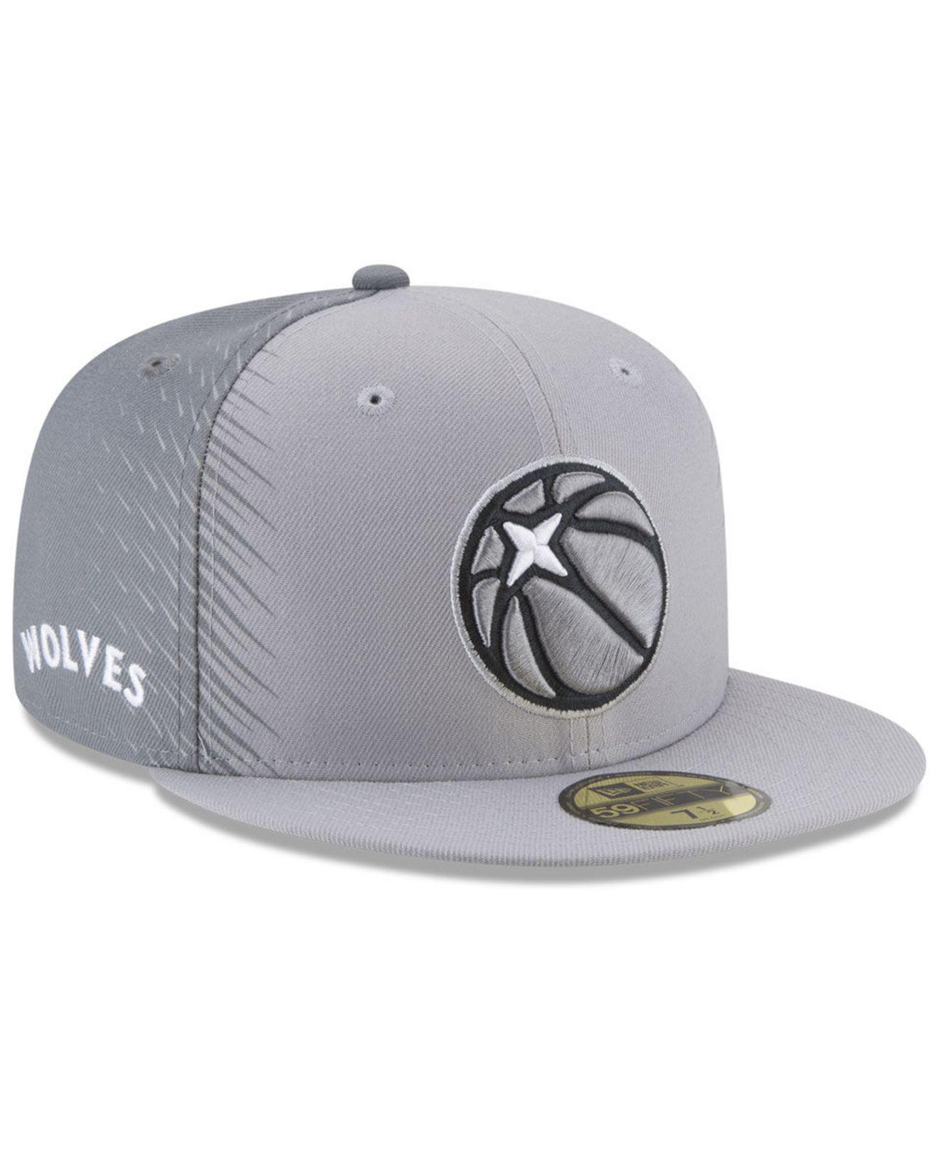 3e400415310166 order lyst ktz minnesota timberwolves city series 59fifty fitted cap in  41120 ba771