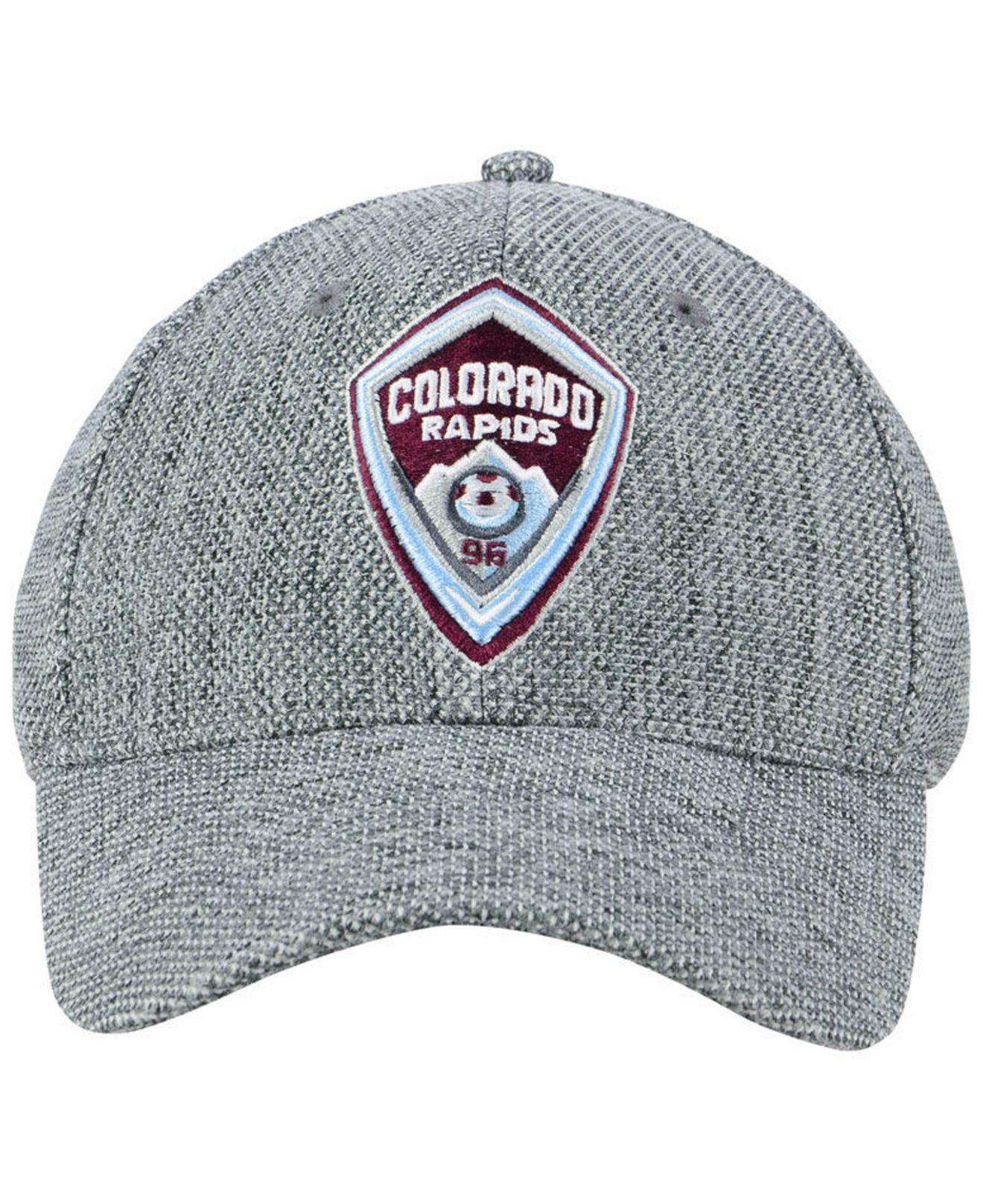 new arrival 1bd1f 45523 Adidas - Gray Colorado Rapids Penalty Kick Flex Cap for Men - Lyst