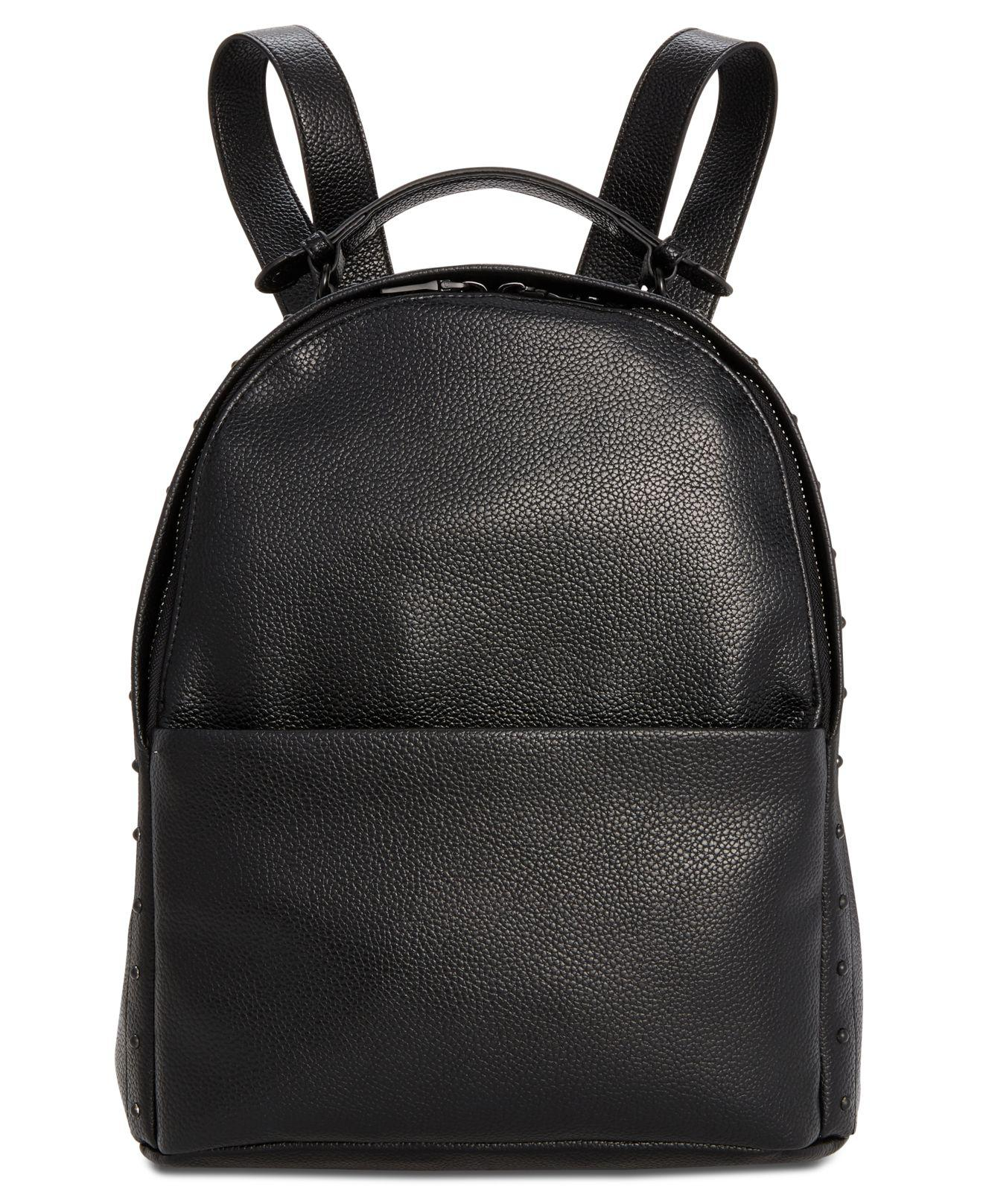 5cea918761 Steve Madden Lennie Pebble Backpack in Black - Lyst