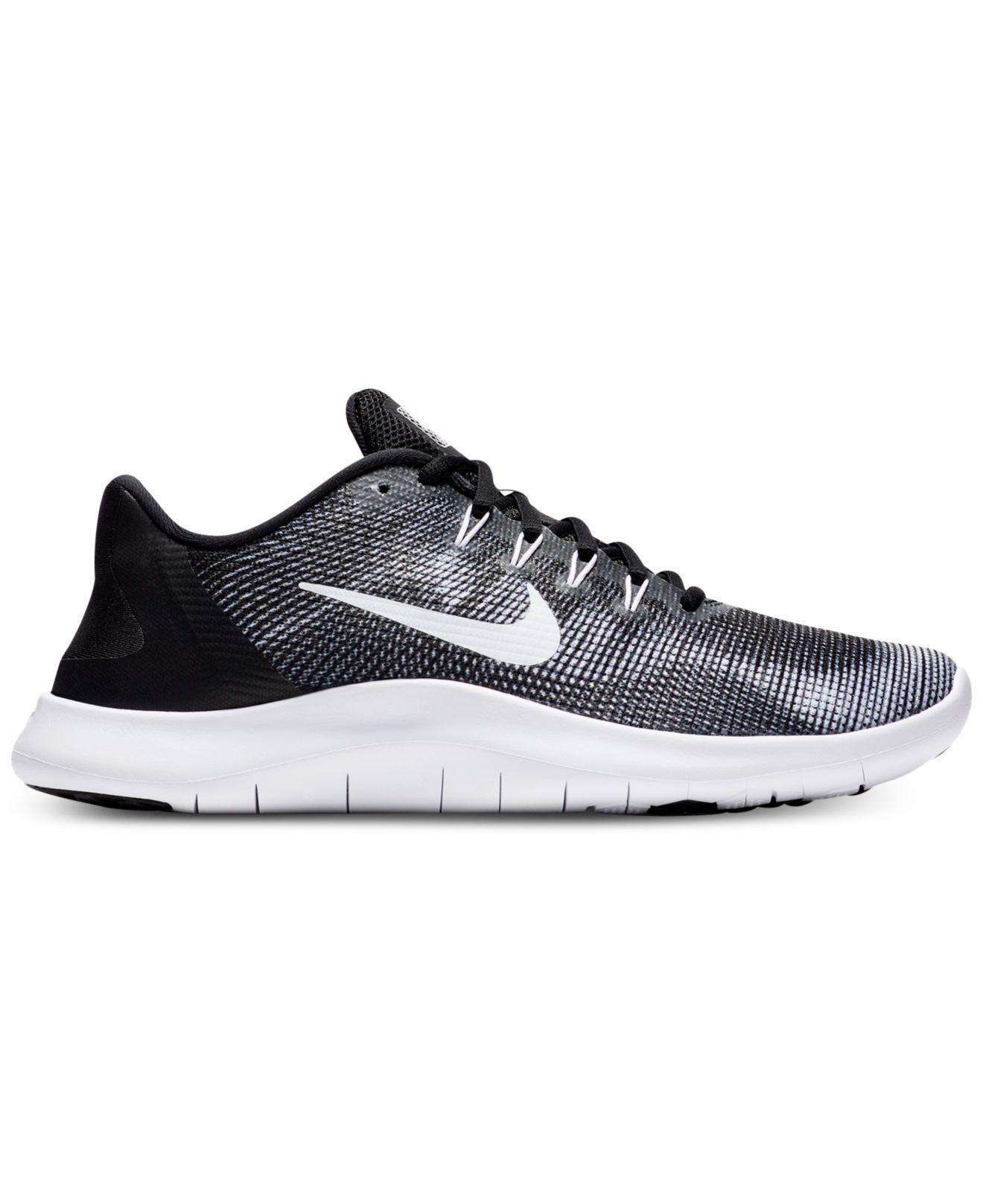 2d36bdff592 Lyst - Nike Flex Rn 2018 Mesh Sneaker in Black for Men - Save 43%
