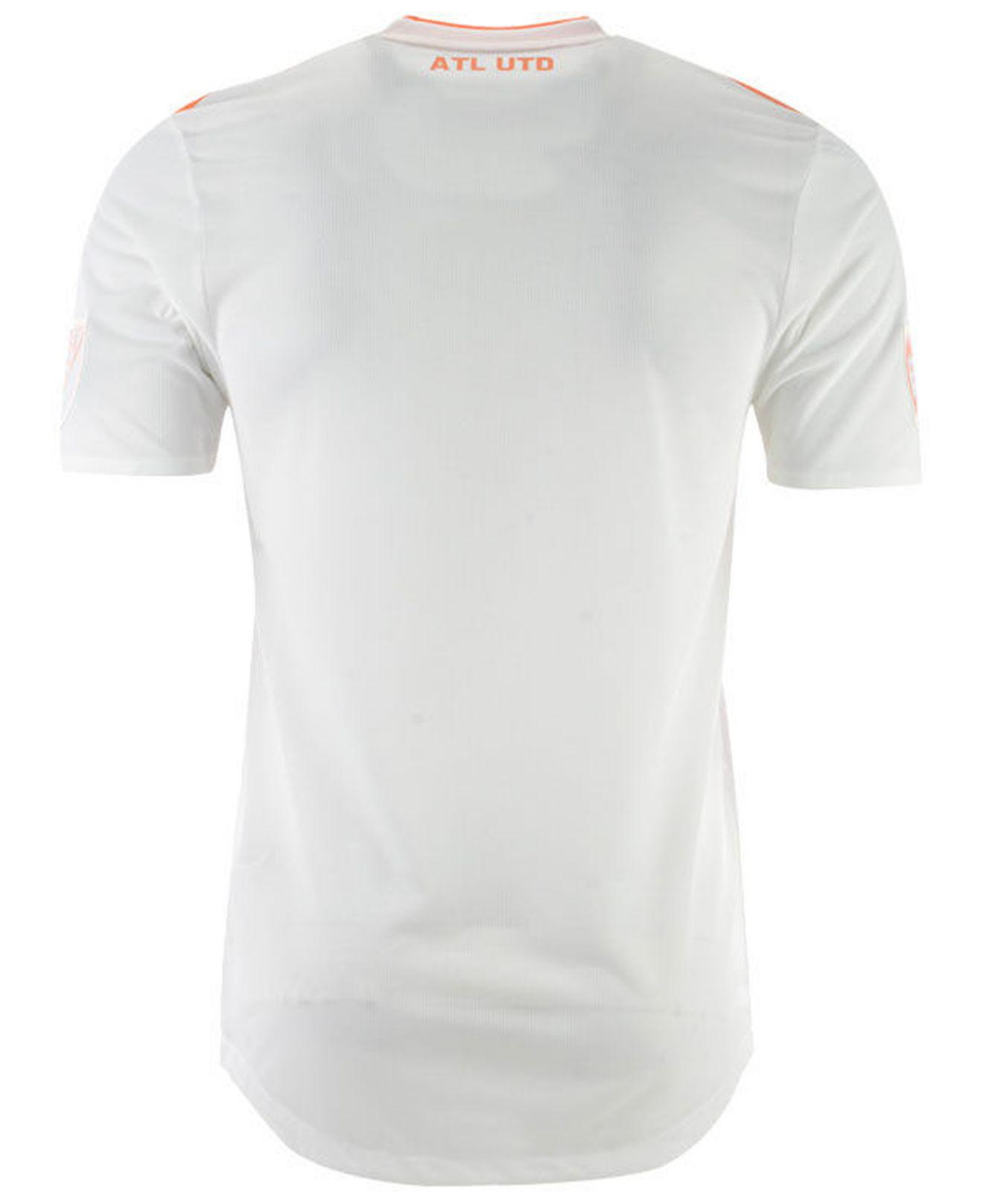 Lyst - adidas Atlanta United Fc Secondary Authentic Jersey in White for Men 72e746c33a6a