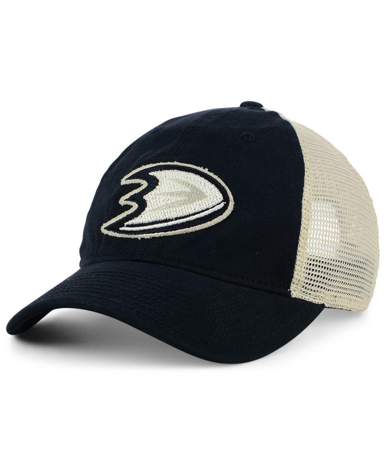 Lyst - Adidas Anaheim Ducks Sun Bleached Slouch Cap for Men 17ae04b230bd