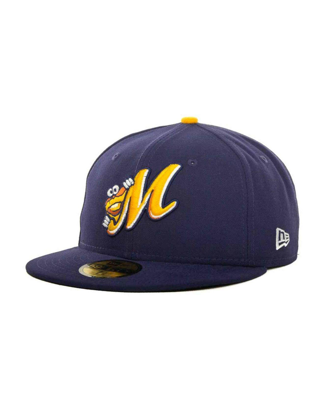 1087fbd1b82 KTZ - Blue Montgomery Biscuits Milb 59fifty Cap for Men - Lyst. View  fullscreen
