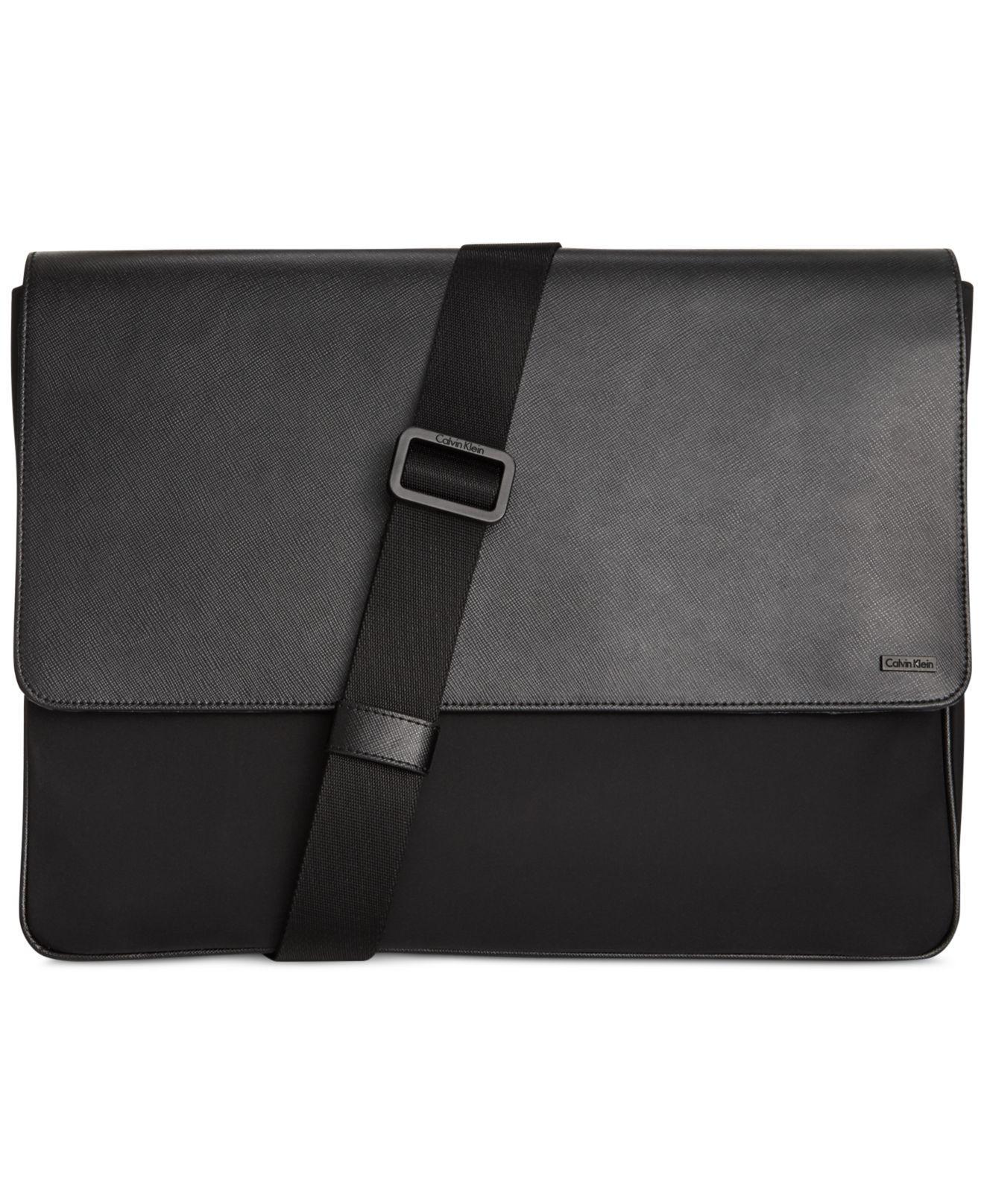 Embossed leather shoulder bag CALVIN KLEIN 205W39NYC rhd2Q