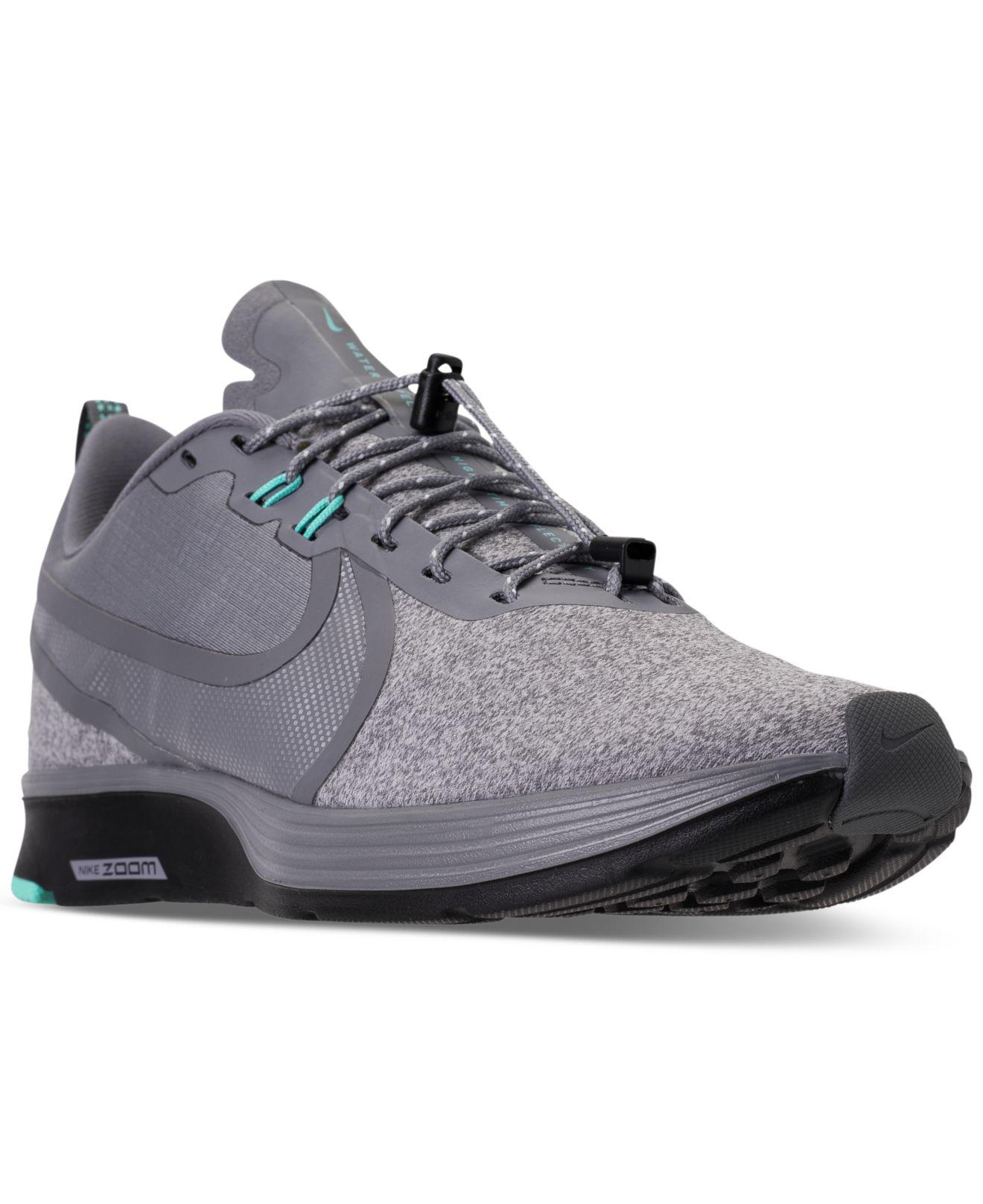 the latest 7dbc4 6852b Nike Zoom Strike 2 Shield Running Sneakers From Finish Line - Lyst