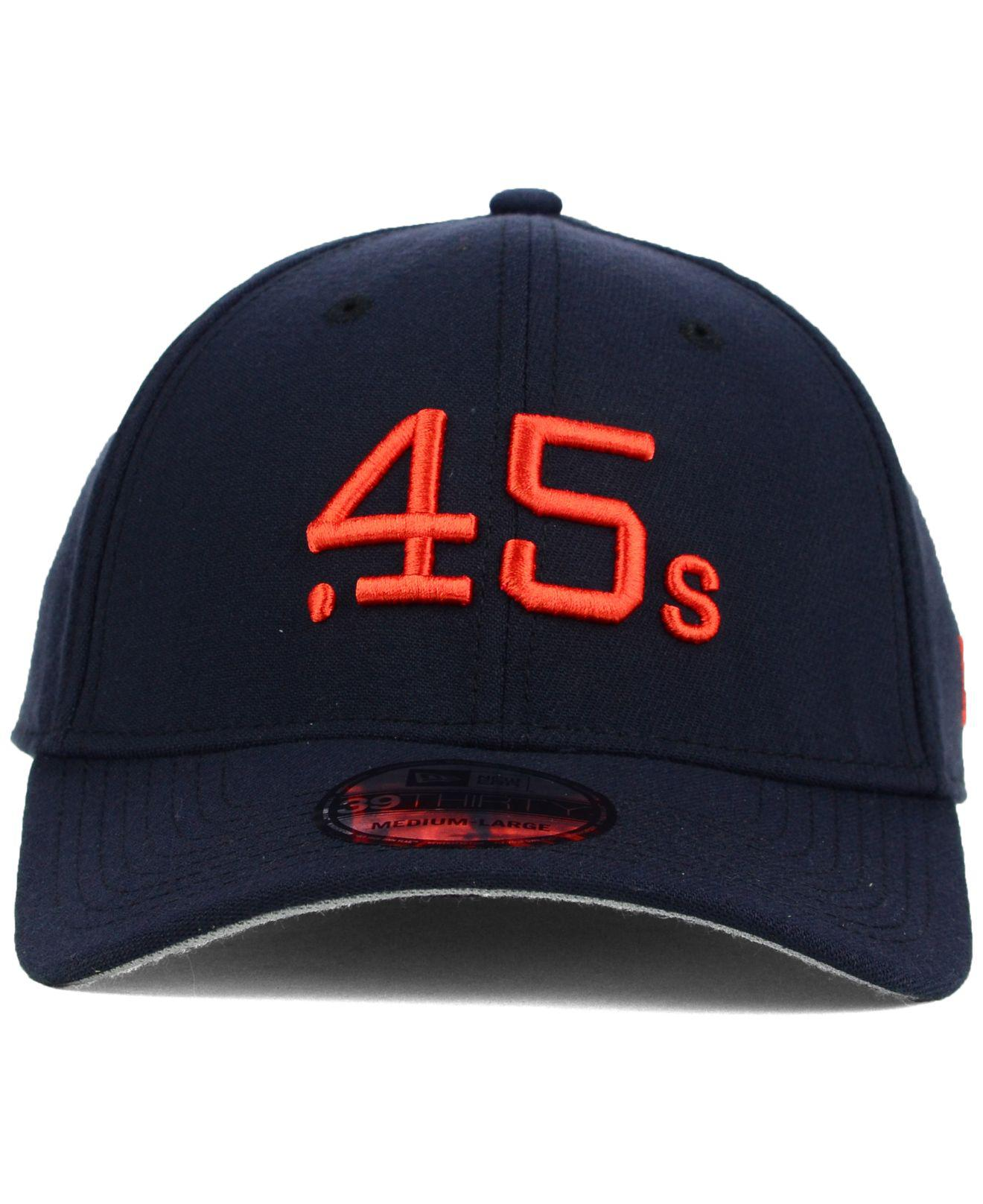 a00f0188a58 Lyst - KTZ Houston Colt .45s Core Classic 39thirty Cap in Blue for Men