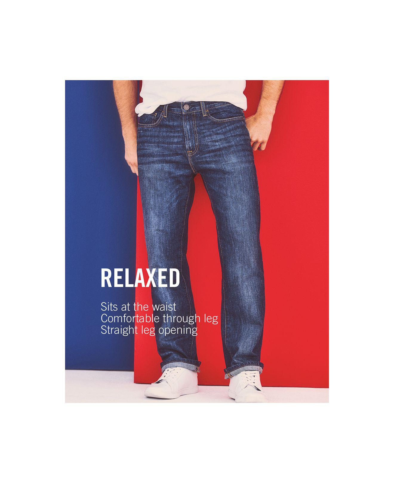 6b739777 Tommy Hilfiger Men's Relaxed Tapered Carpenter Jeans in Blue for Men ...