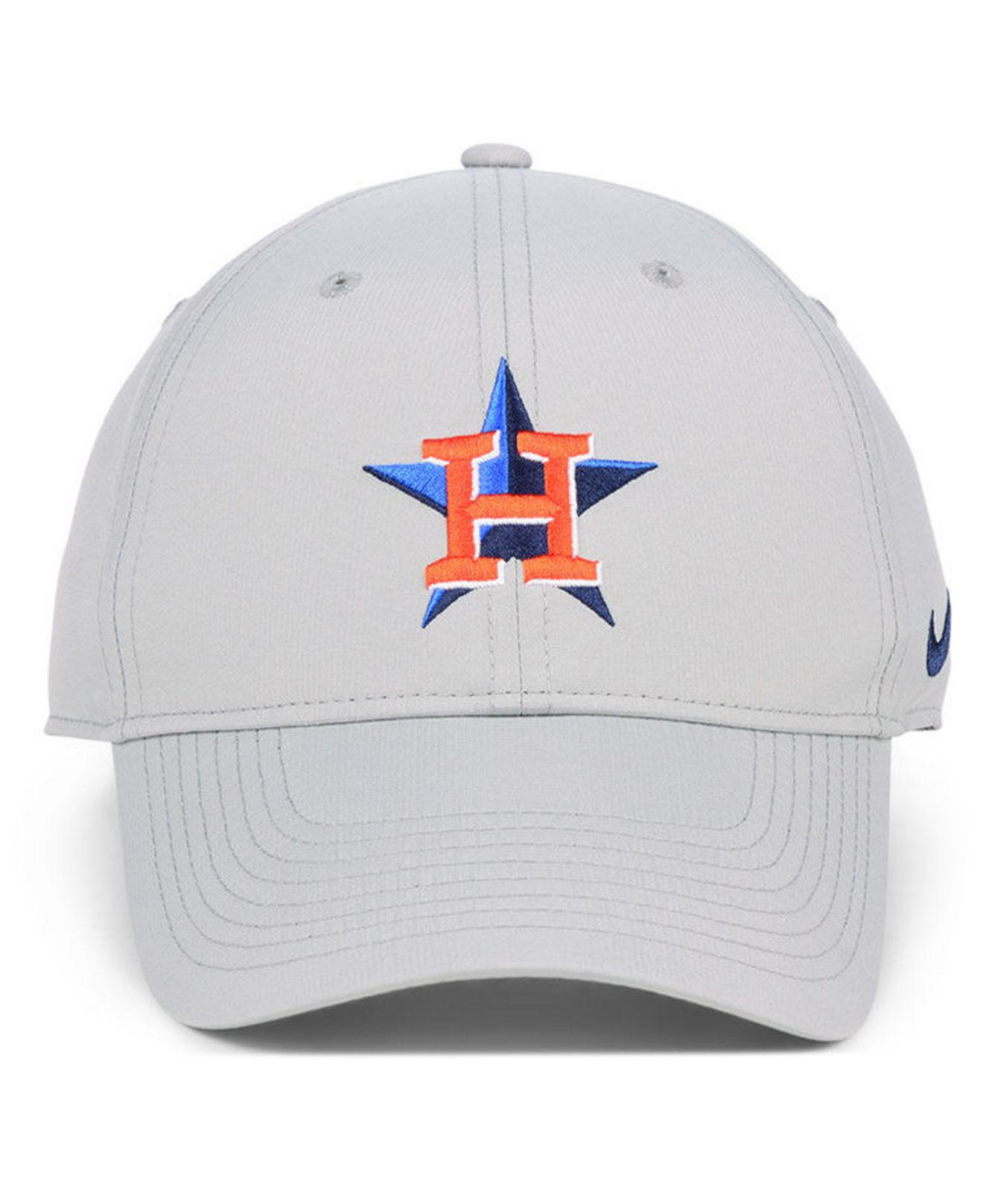 Lyst - Nike Houston Astros Legacy Performance Cap in Gray for Men a07a4d0a31d