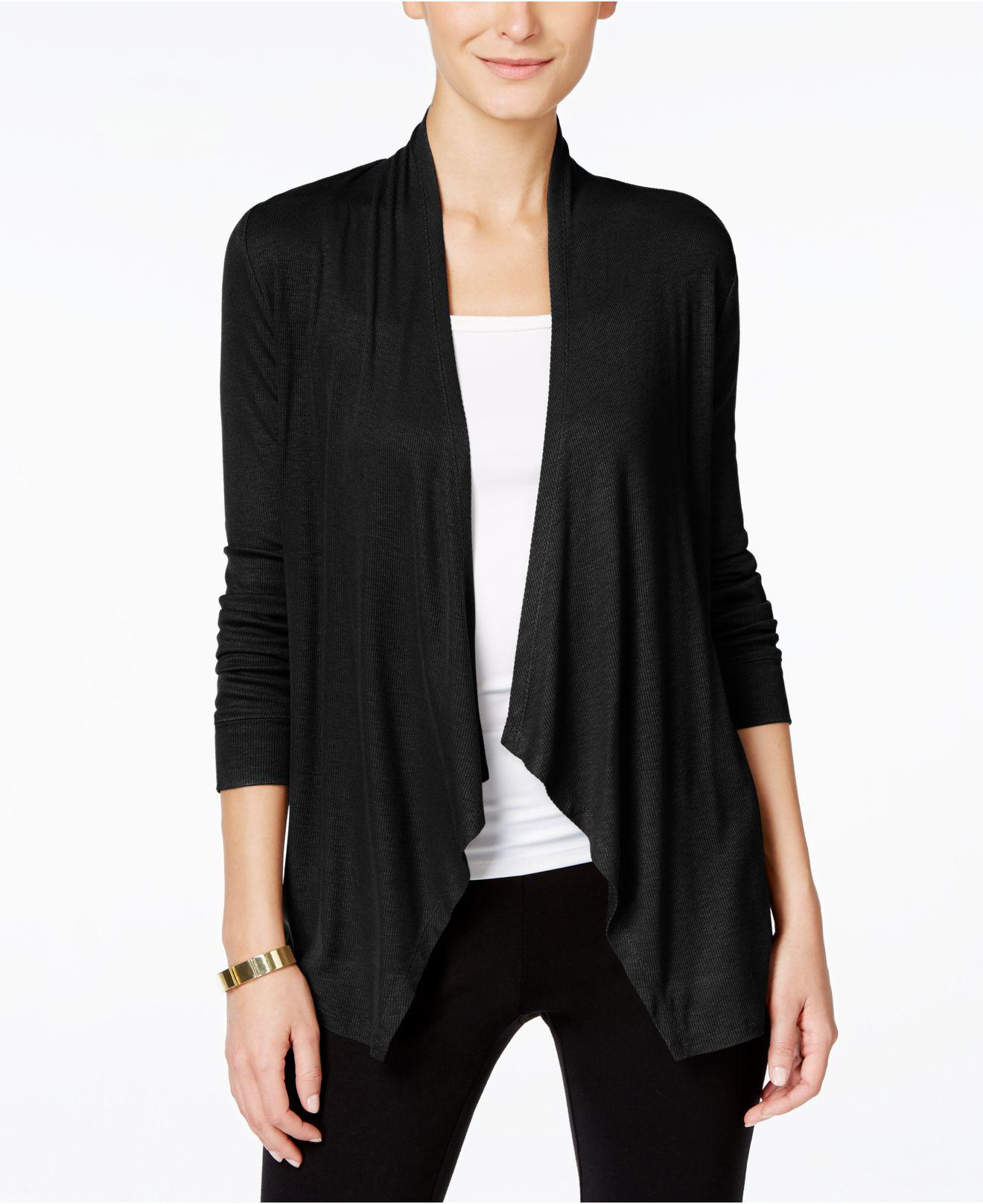 Inc international concepts Long-sleeve Open-front Cardigan in ...