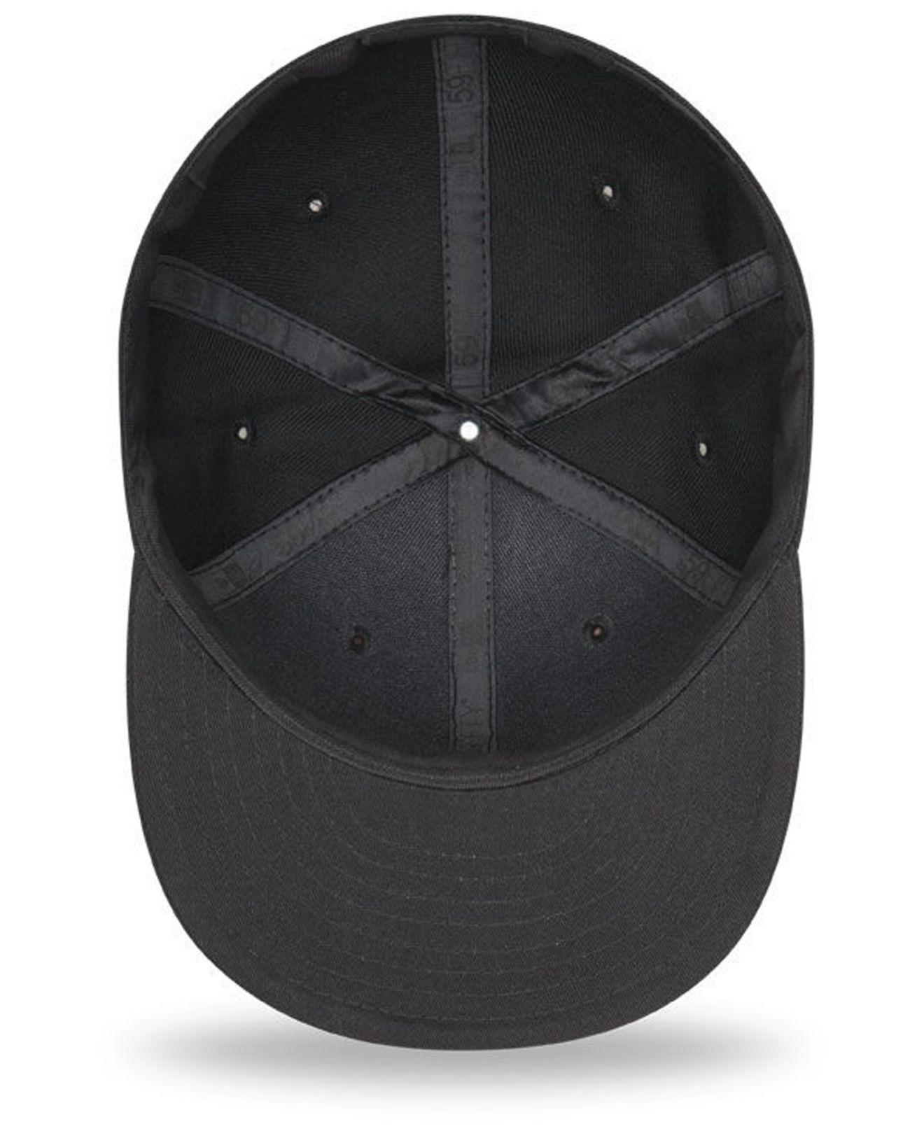 new york c055f 7c648 ... canada ktz minnesota twins blackout 59fifty fitted cap for men lyst.  view fullscreen e125e 455cb