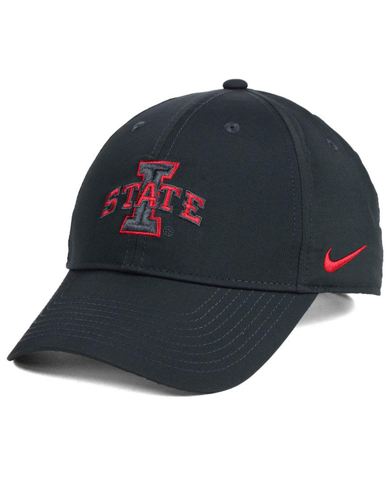 huge selection of b9879 b5496 ... get lyst nike iowa state cyclones dri fit adjustable cap for men ed98e  878ab