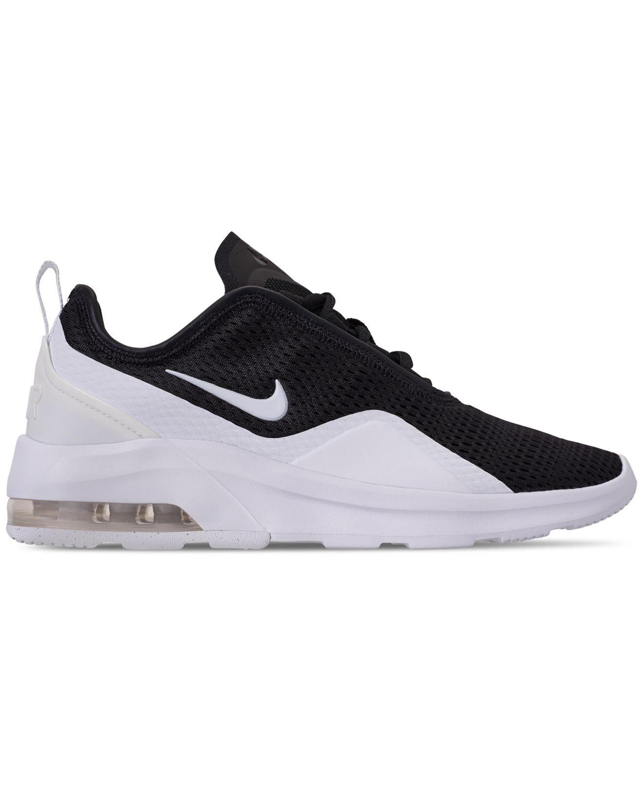 promo code ac689 78a7f Nike Air Max Motion 2 Casual Sneakers From Finish Line in Black - Lyst