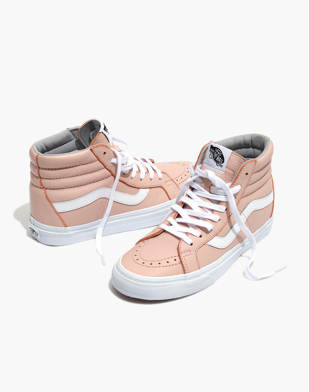 2ad424060b Madewell Vans Unisex Sk8-hi Reissue High-top Sneakers In Oxford Pink ...