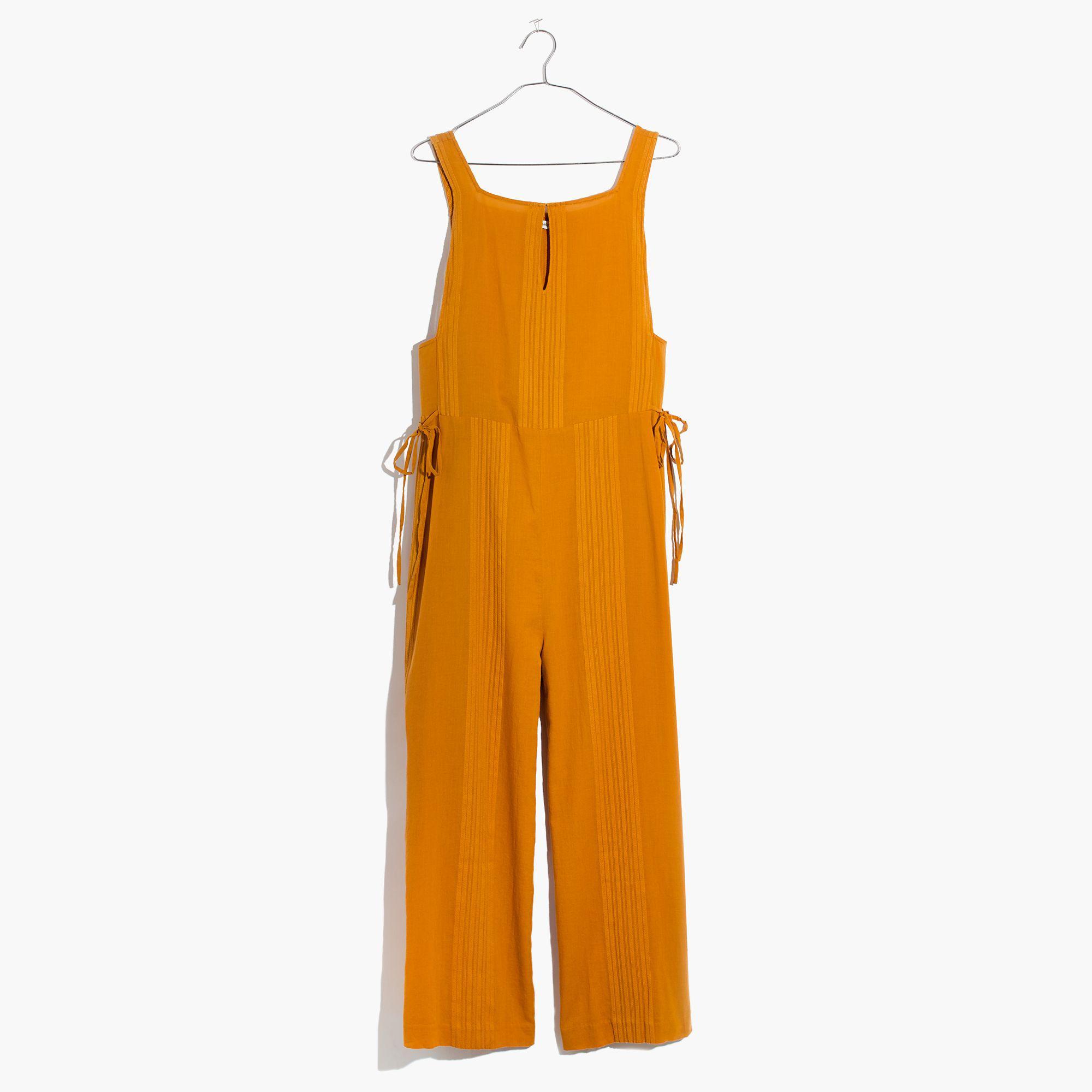 f1380339bcc86 Madewell Esperanza Cover-up Jumpsuit in Orange - Lyst