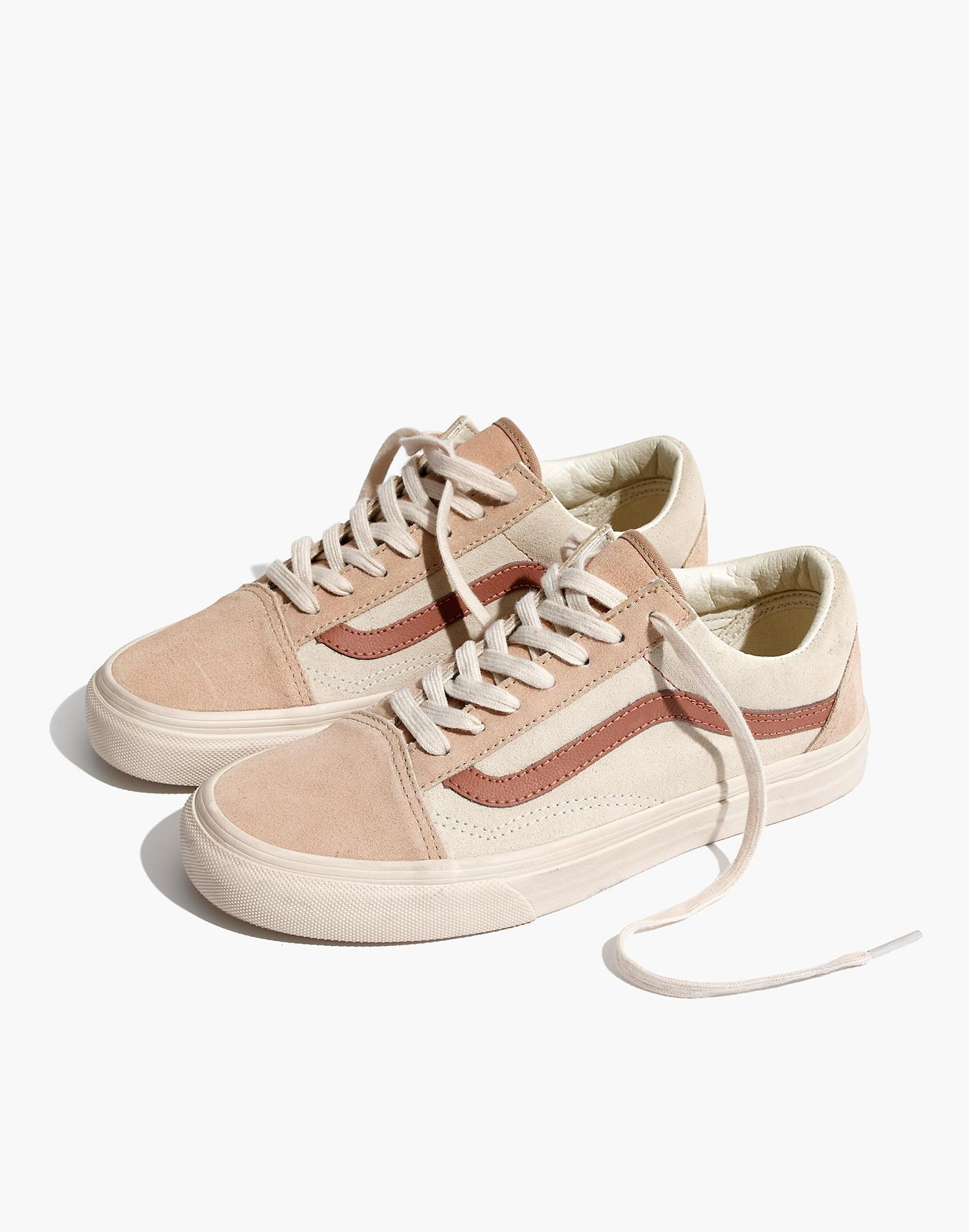 46d88b73870 Madewell X Vans® Unisex Old Skool Lace-up Sneakers In Camel ...