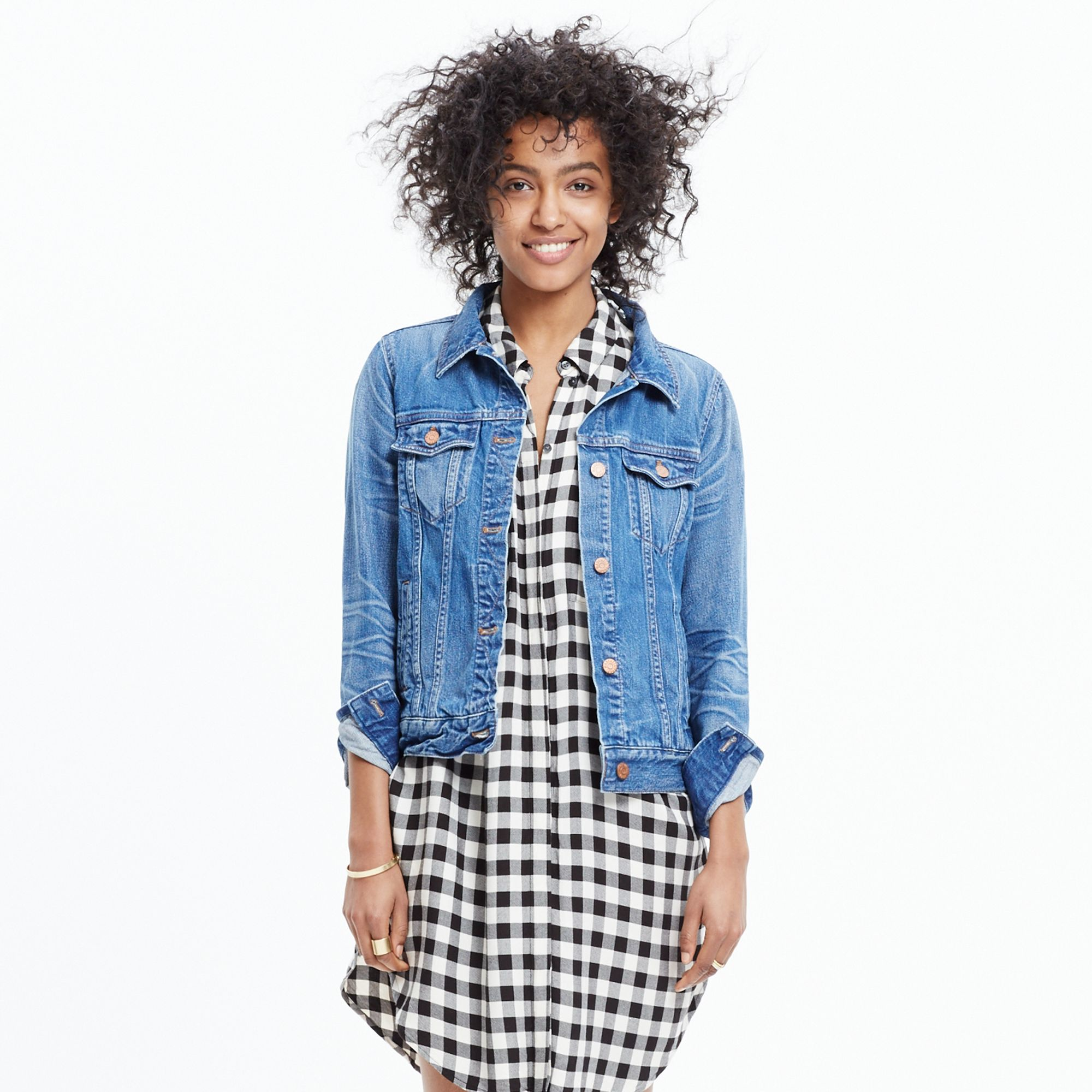 Madewell The Jean Jacket In Pinter Wash in Blue | Lyst