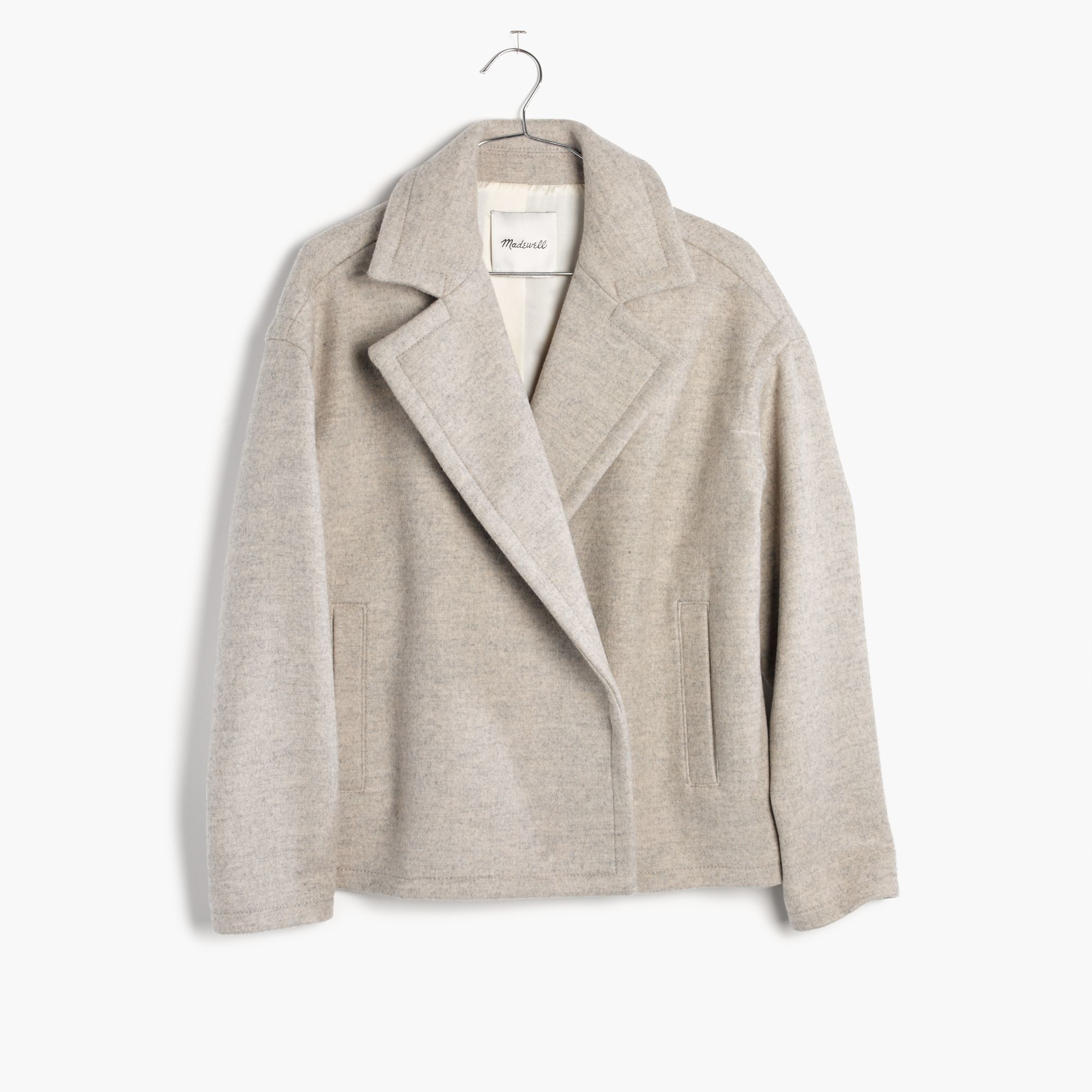 Madewell Short Swing Jacket | Lyst