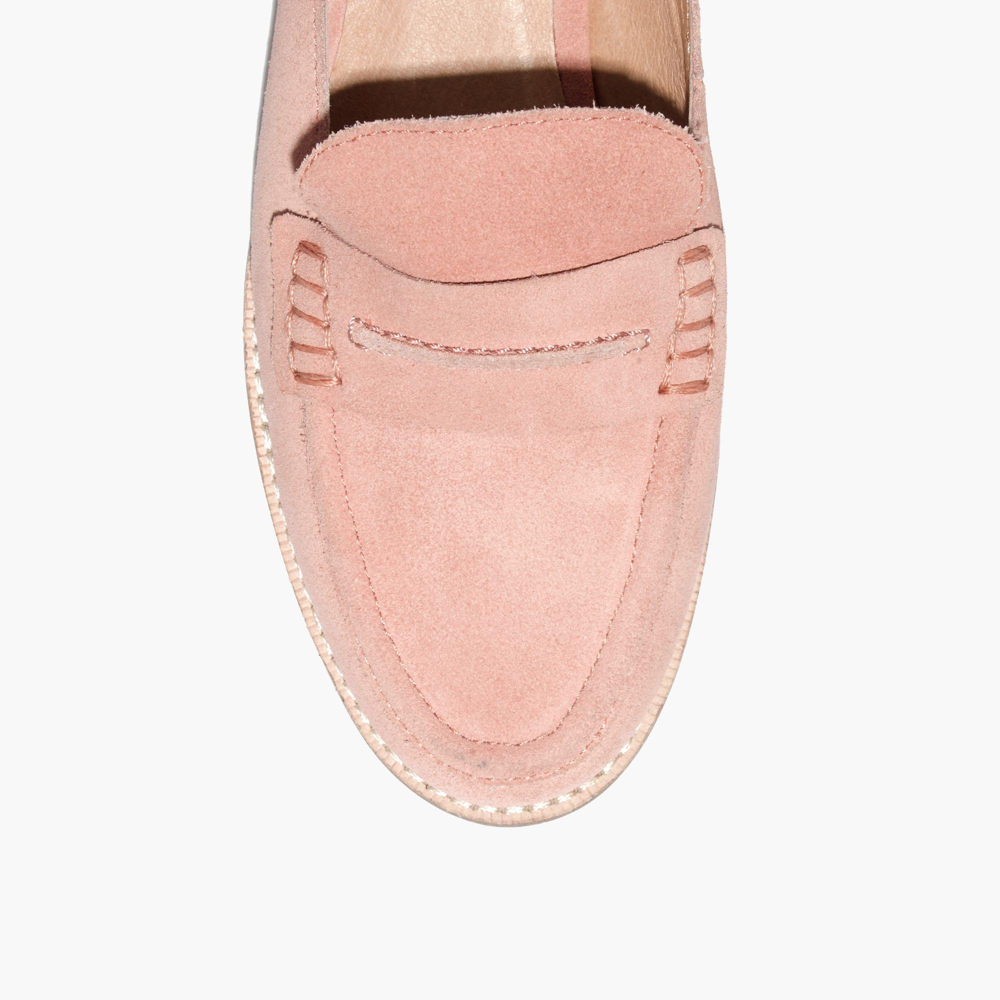 fe0731f8784 Lyst - Madewell The Elinor Loafer Mule in Pink