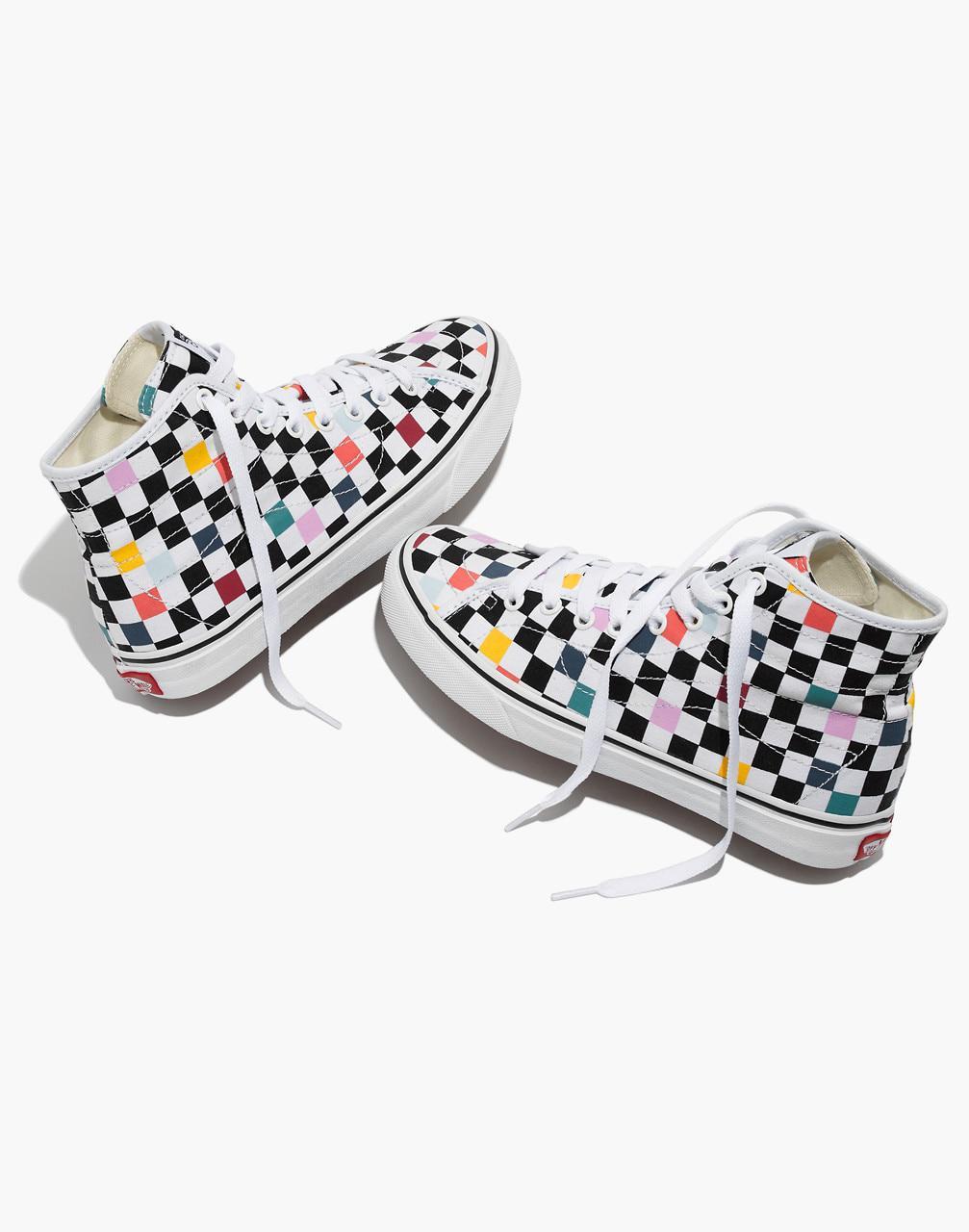 54362b26cc Madewell Vans Unisex Sk8-hi Decon High-top Sneakers In Party ...