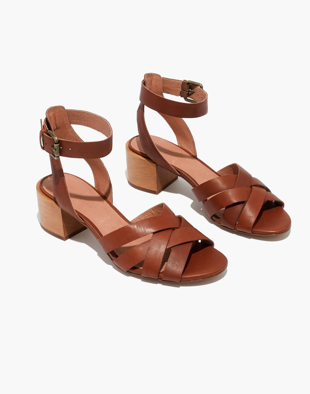 4819e947c21 Lyst - Madewell The Lucy Sandal in Brown
