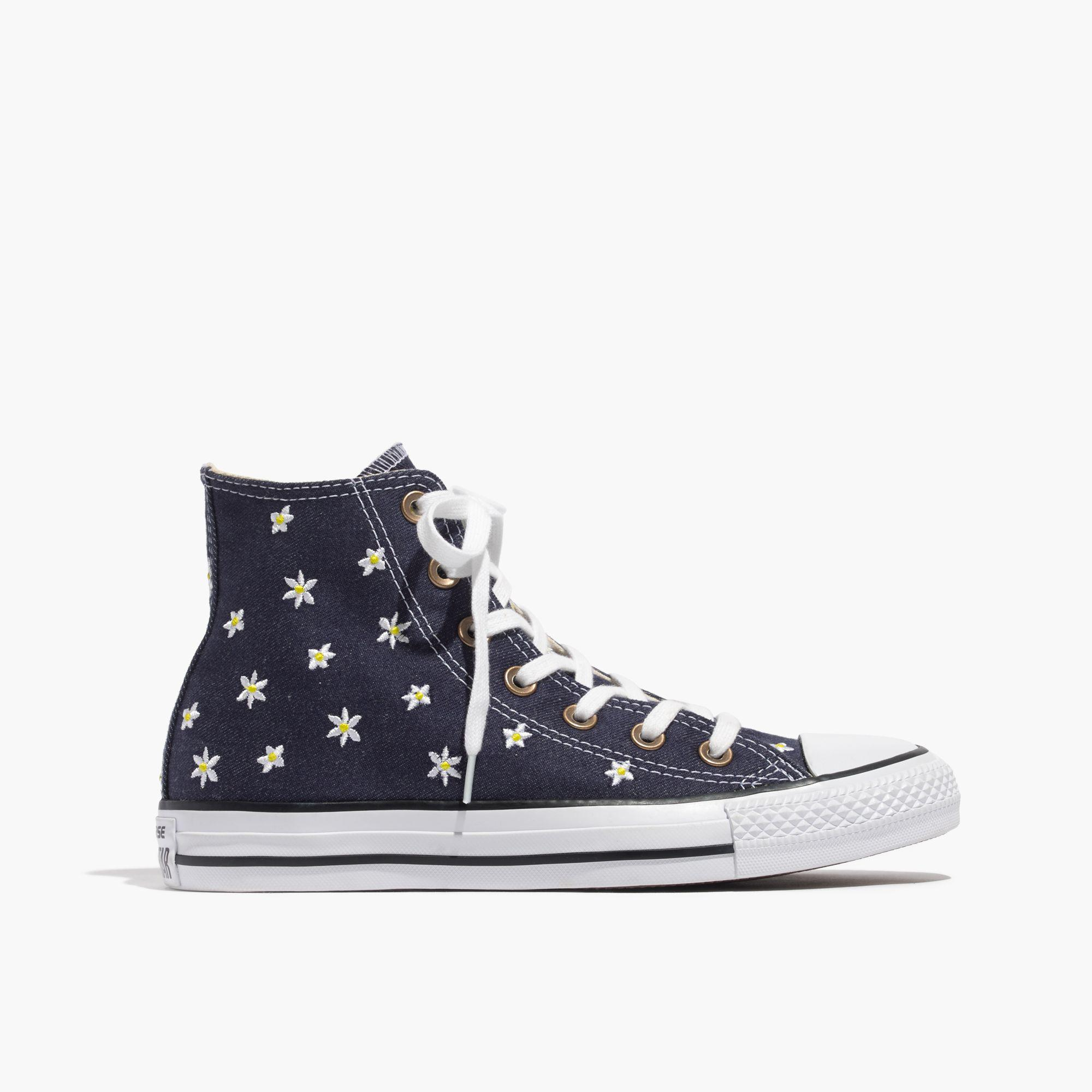 6e5cb13674d7c8 Lyst - Madewell Converse® Chuck Taylor All Star High-top Sneakers In ...