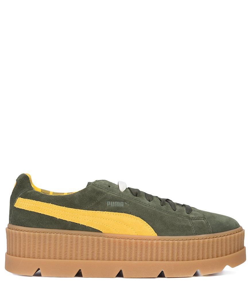 3523d8343741 PUMA - Green Men s Rosin Suede Cleated Creeper for Men - Lyst. View  fullscreen
