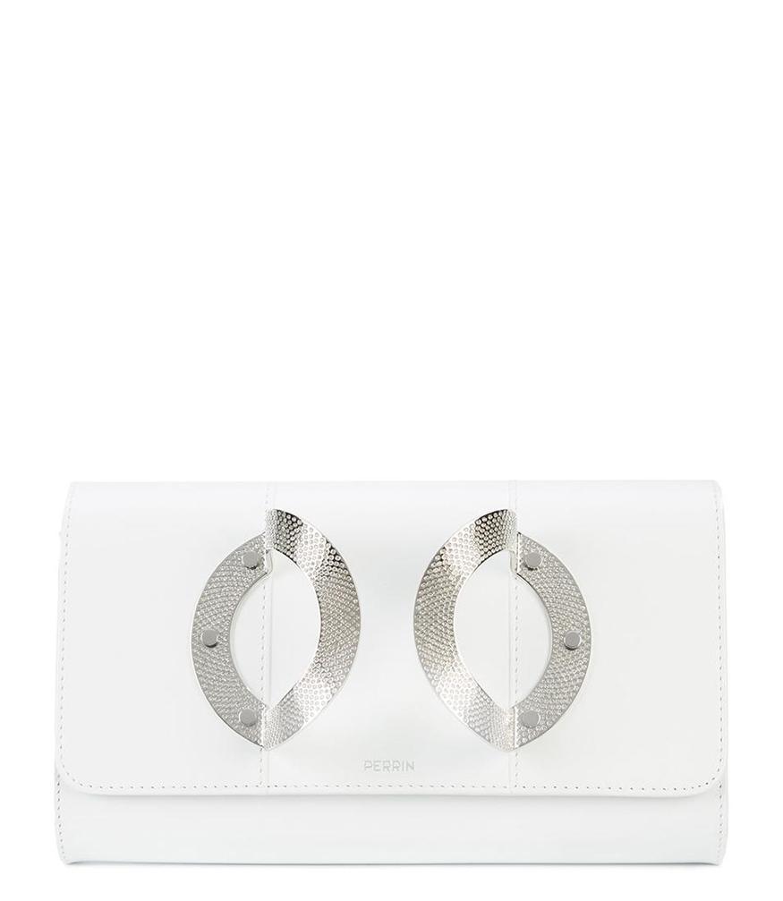 Strass clutch - White Perrin Paris HAcZ95