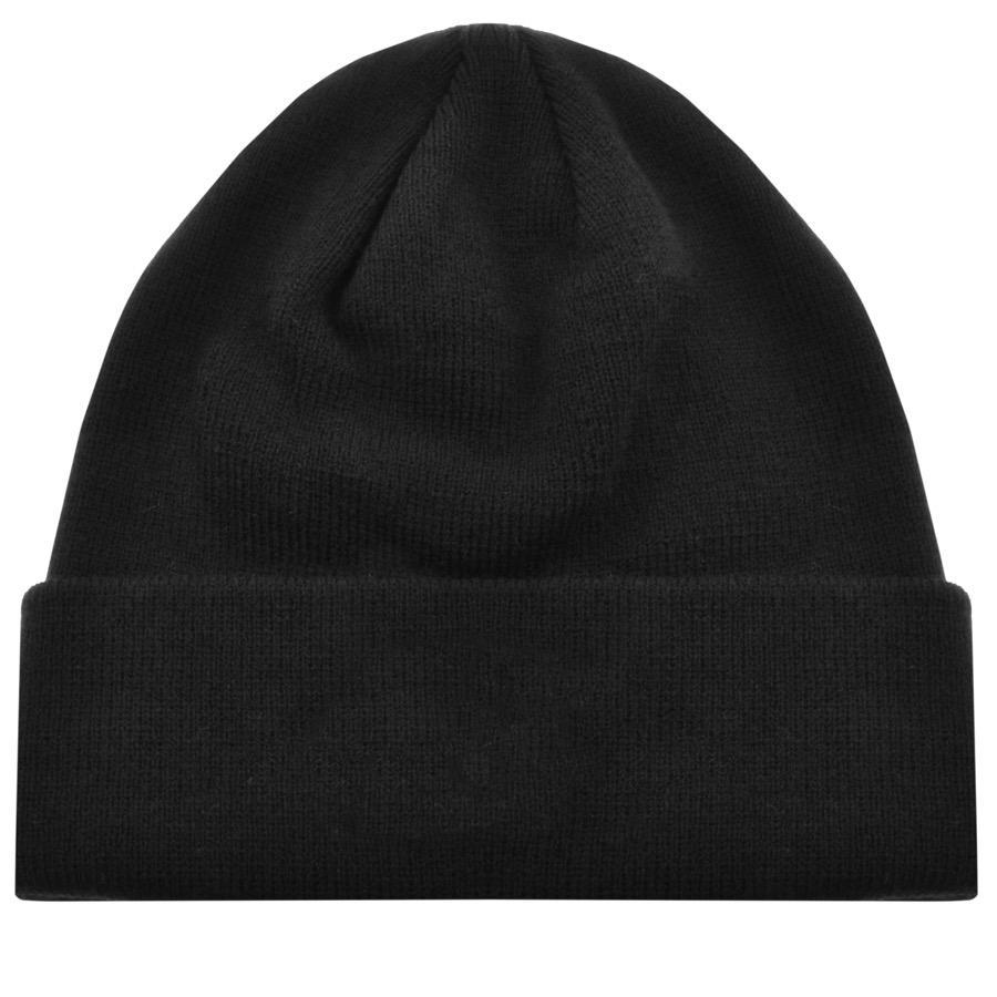f1be30a6b5e Franklin   Marshall - Logo Beanie Hat Black for Men - Lyst. View fullscreen