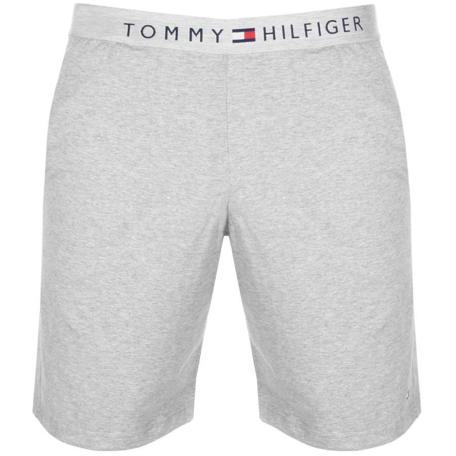 Icon Cotton Lounge Shorts Regular Fit in Grey Marl - Grey heather Tommy Hilfiger S8KFObH