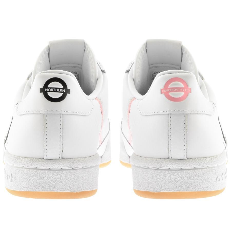wholesale dealer cab62 95a4b Adidas - White Originals X Tfl Continental 80 Trainers for Men - Lyst. View  fullscreen