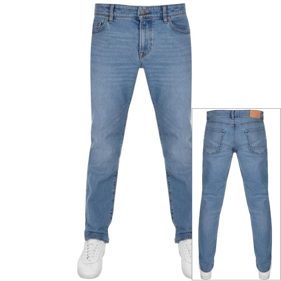 4791db549c BOSS by Hugo Boss Maine Regular Fit Jeans Blue in Blue for Men - Lyst