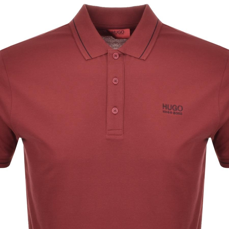 e1e9d1dc4 Lyst - HUGO By Boss Daruso Polo T Shirt Red in Red for Men