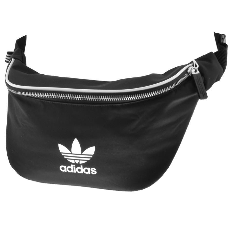 Lyst Adidas Originals Waist Bag Black In Black For Men