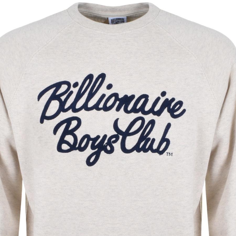 a326ad25f BBCICECREAM Billionaire Boys Club Script Logo Sweatshirt Beige in ...