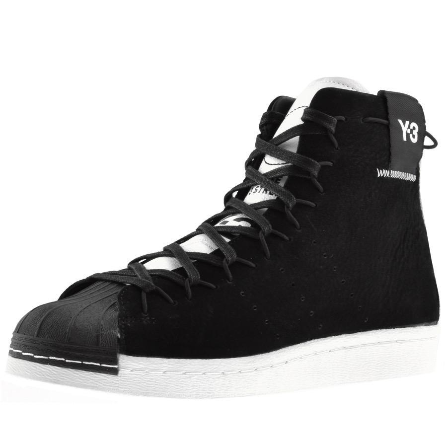 ba4de7dc283c Lyst - Y-3 Shishu Super High Trainers In Black in Black for Men