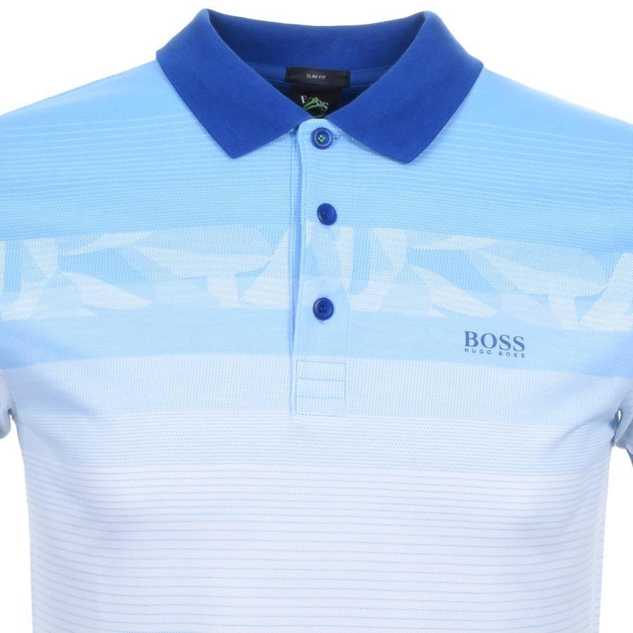 f47207084 Lyst - BOSS Green Paule 6 Polo T Shirt Blue in Blue for Men