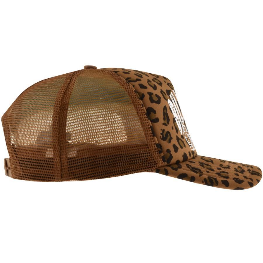 b3bf7e3c7c4 BBCICECREAM - Billionaire Boys Club Leopard Cap Brown for Men - Lyst. View  fullscreen
