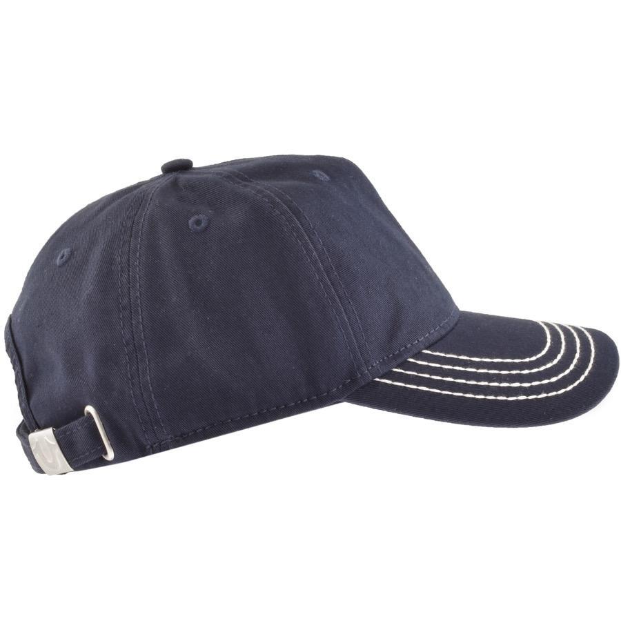 True Religion - Blue Horseshoe Logo Cap Navy for Men - Lyst. View fullscreen 6b0484c753e8