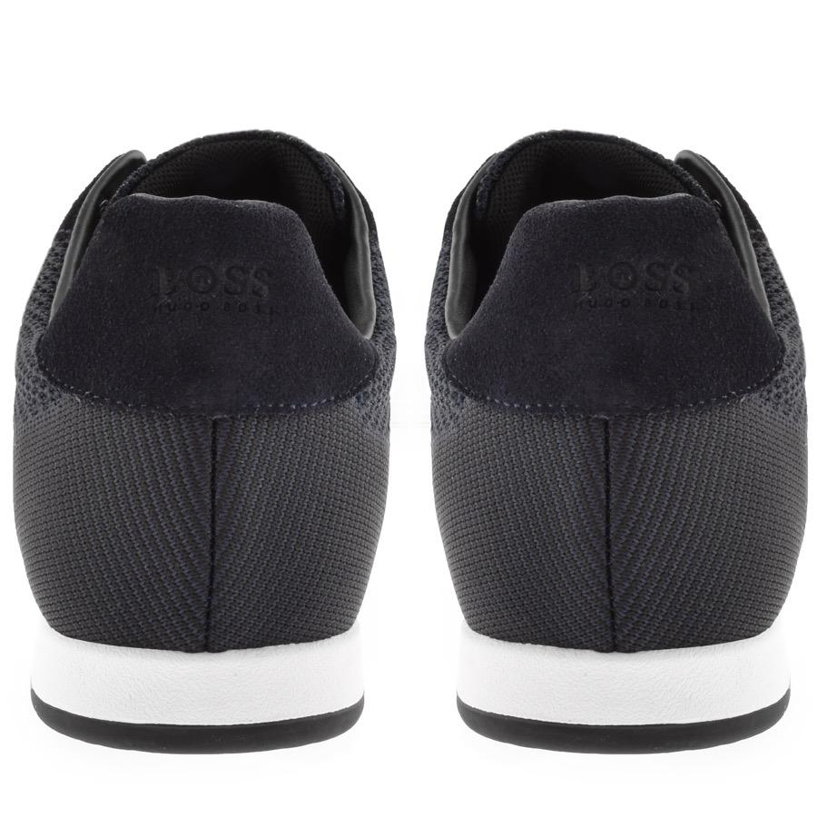c24498680f56c Lyst - BOSS Athleisure Boss Green Maze Lowp Trainers Blue in Blue ...