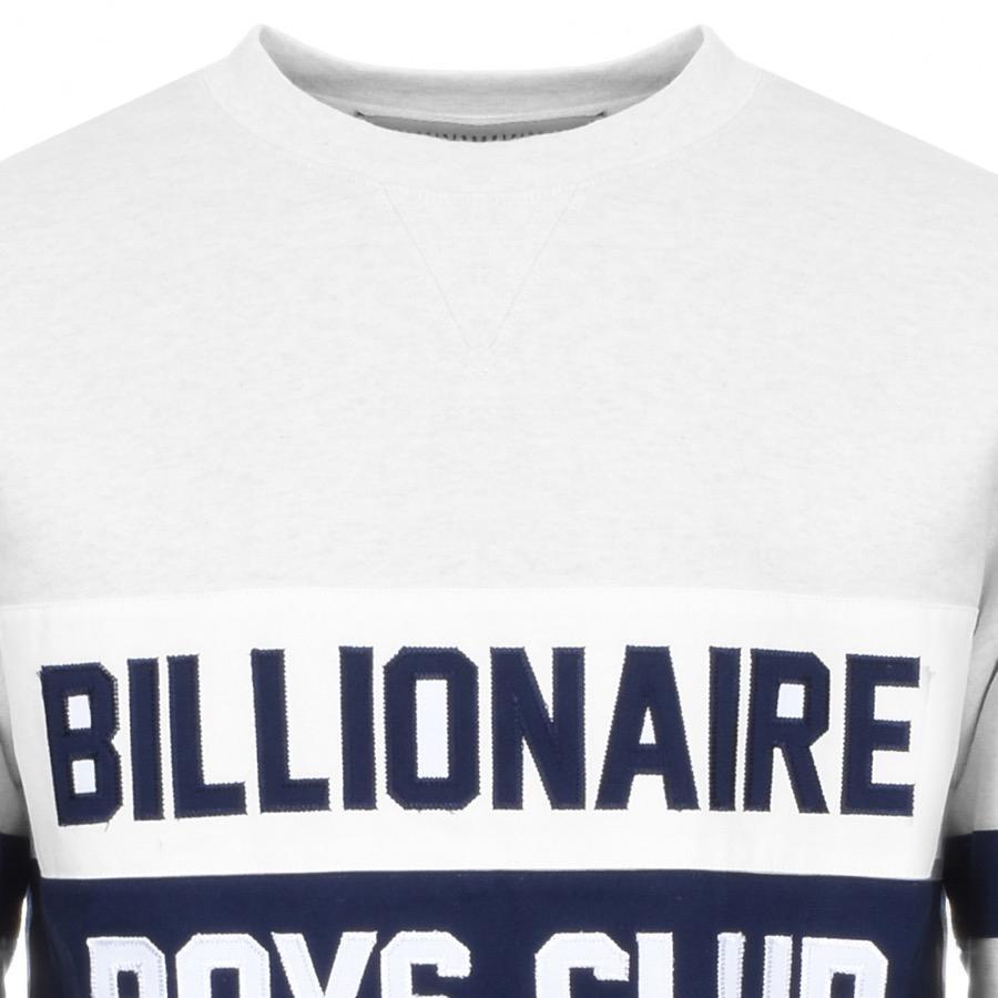 b0c3f64ea5e BBCICECREAM - Billionaire Boys Club Cut And Sew Sweatshirt White for Men -  Lyst. View fullscreen