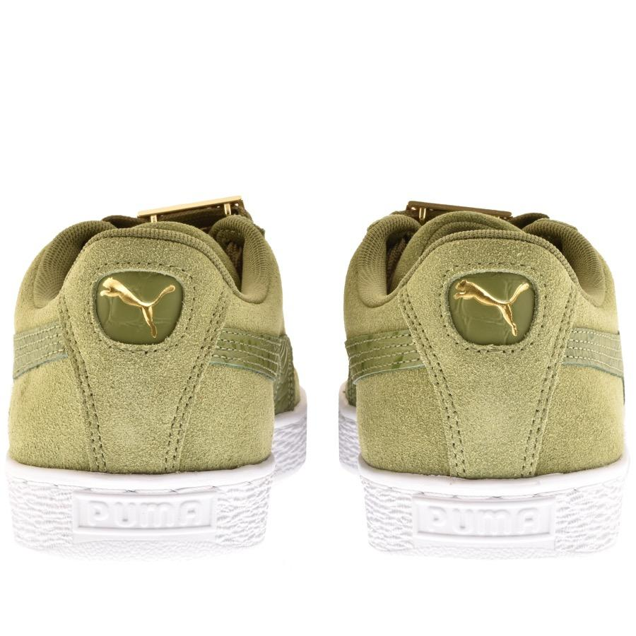 Lyst - PUMA Suede Classic Bboy Trainers Green in Green for Men 9b0574491