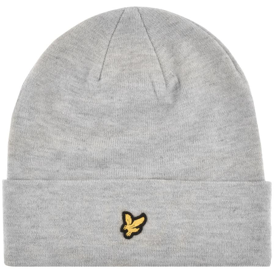 3d83868324030 Lyle   Scott Lyle And Scott Ribbed Beanie Hat Grey in Gray for Men ...