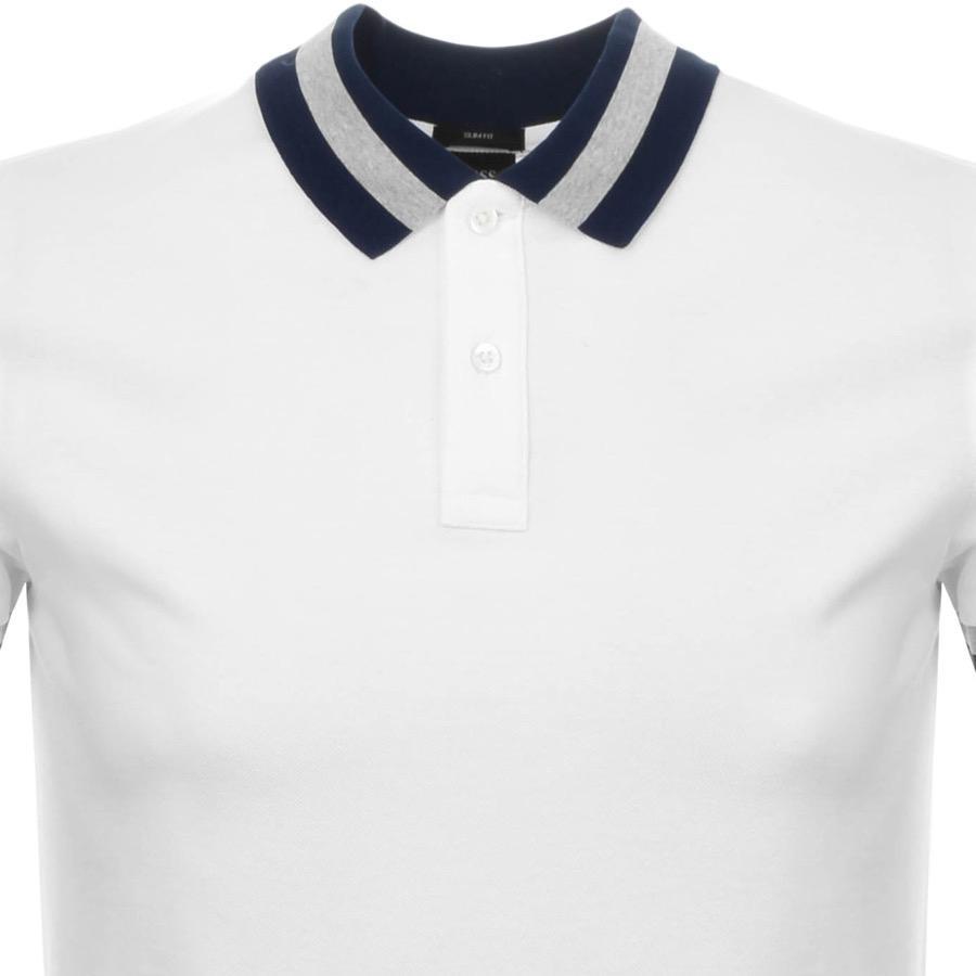 bc111238 BOSS Phillipson 23 Polo T Shirt White in White for Men - Lyst