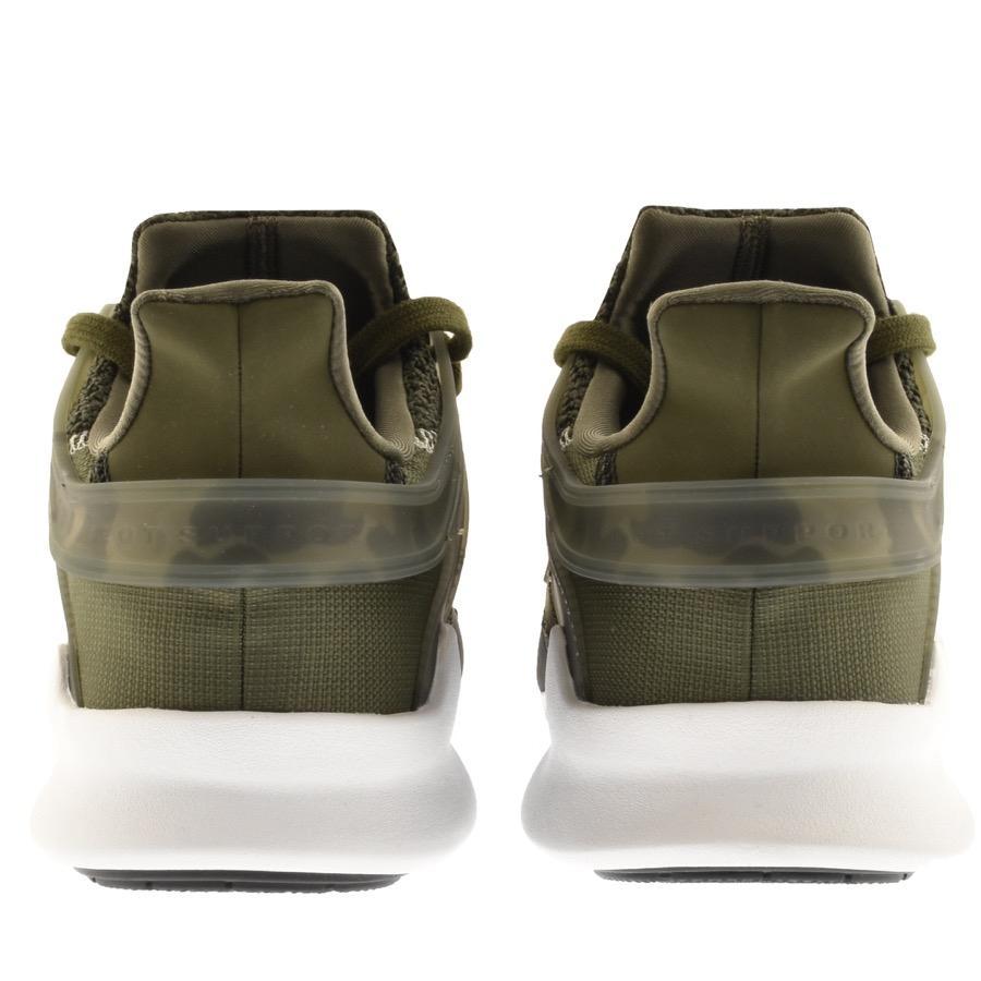 reputable site aa48b 71a28 Adidas - Originals Eqt Support Trainers Green for Men - Lyst. View  fullscreen