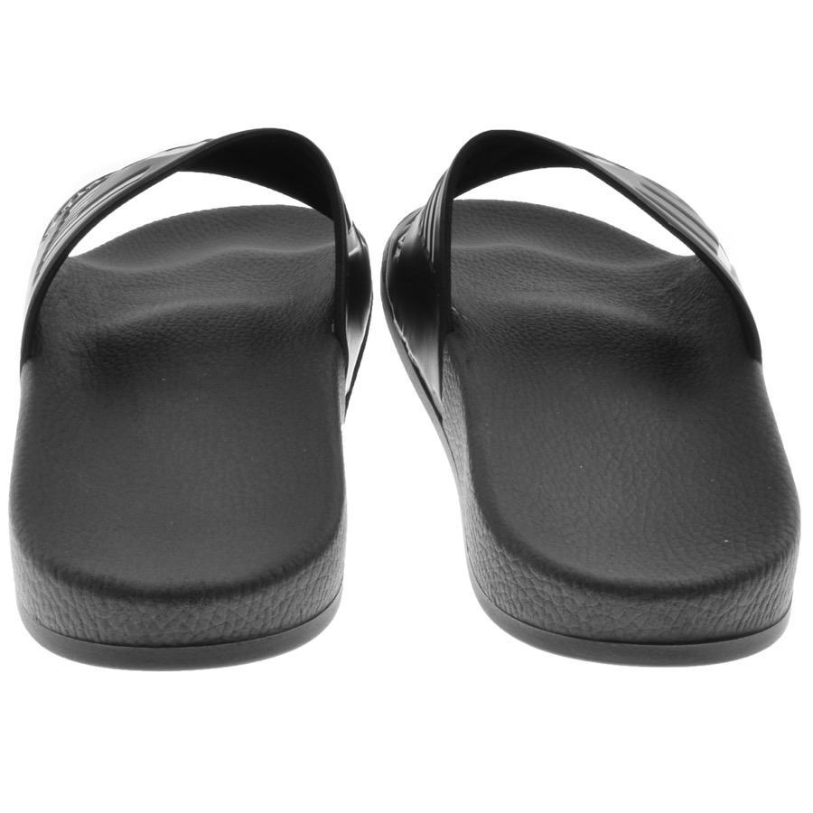 bb31d73b5 EA7 Sea World Sliders Black in Black for Men - Lyst