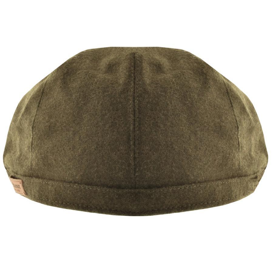 f57e9b5ba19 Lyst - Barbour Redshore Flat Cap Green in Green for Men