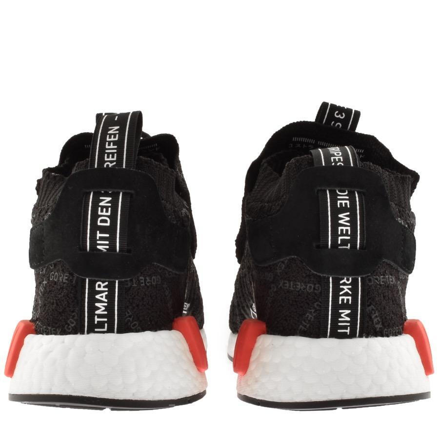 a6a829fa9e59f4 Adidas - Nmd Ts1 Prime Knit Gtx Trainers Black for Men - Lyst. View  fullscreen