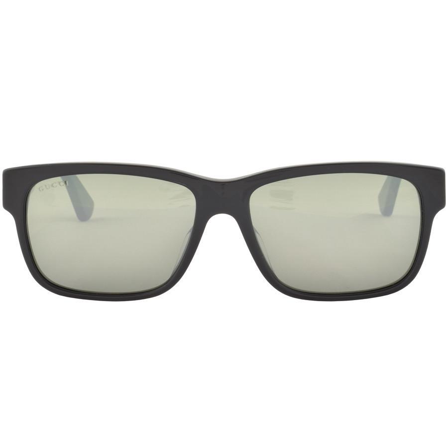 3c36d38c02a Lyst - Gucci Gucci GG0340SA Sunglasses Black in Black for Men
