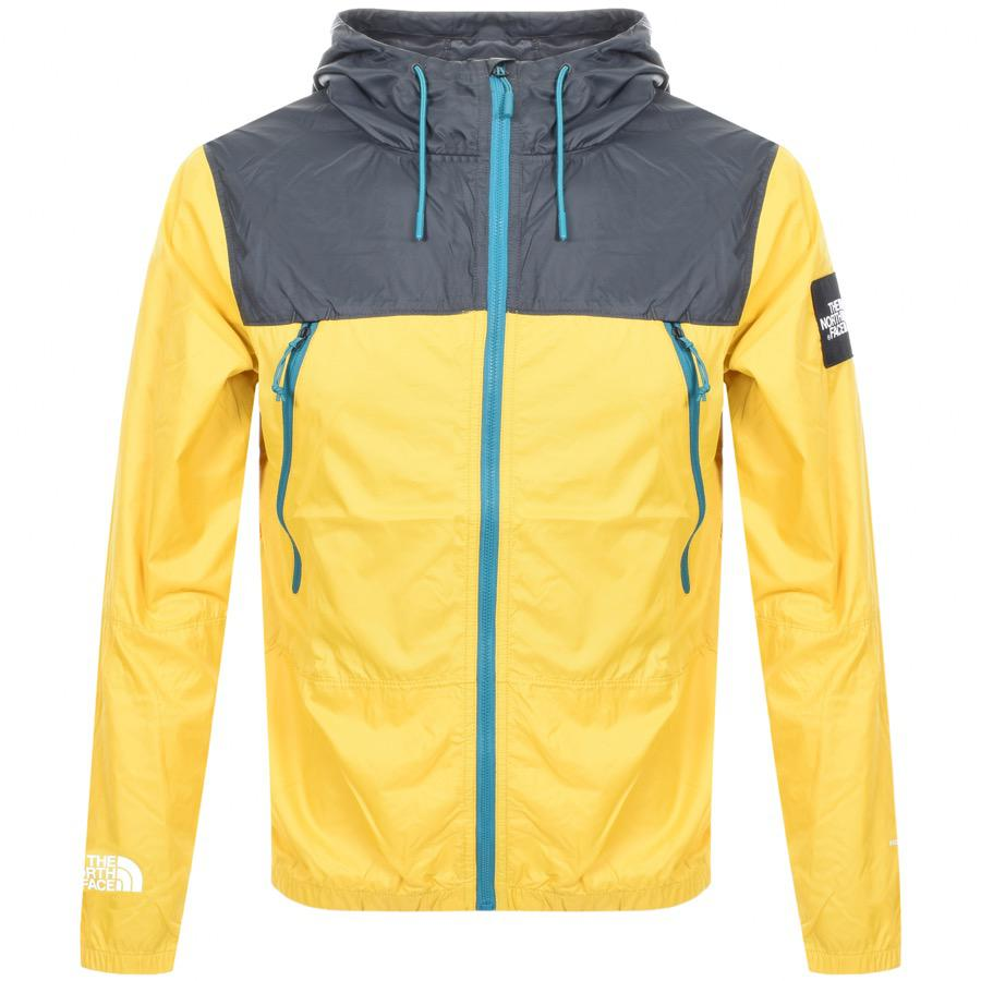 Lyst - The North Face Hooded Jacket in Yellow for Men - Save 16% 5e63399e3